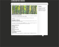 concrete5 theme: lightword